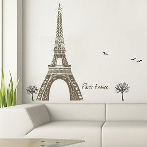 Eiffel Tower Wall Stickers now featured on Fab.