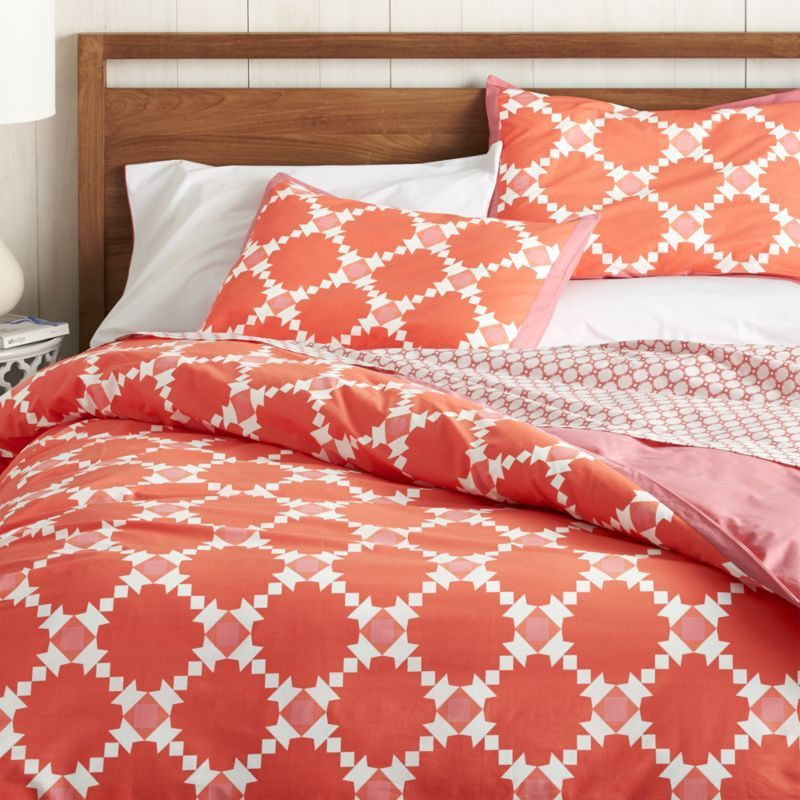 Genevieve Duvet Covers And Pillow Shams Crate Barrel