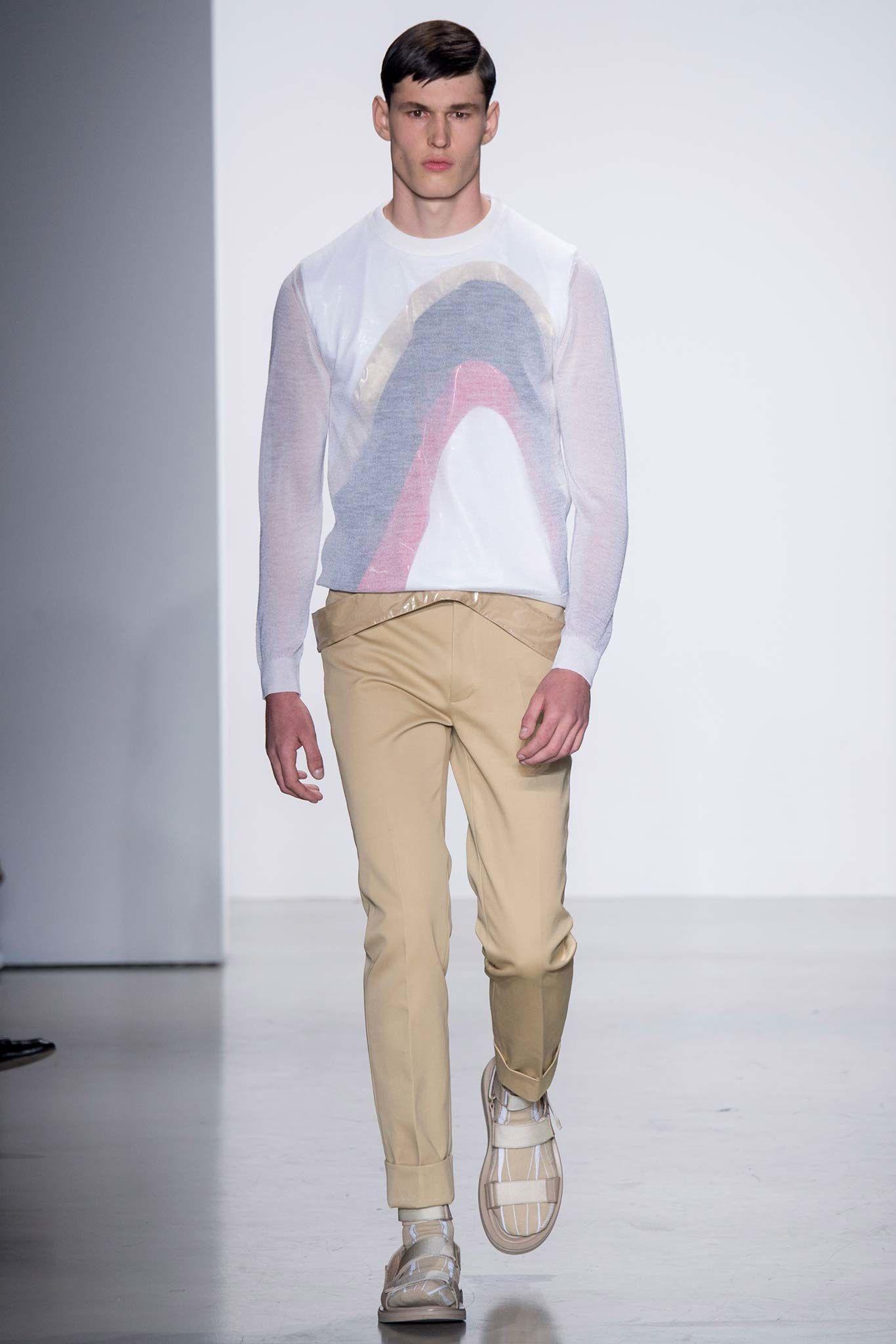 Calvin Klein Collection Spring 2016 Menswear Fashion Show - Markus Lauenborg Breitenstein