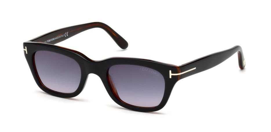 a3f0455e2ee TOM FORD SNOWDON - BLACK AMBER   GRADIENT LENS FT0237-05B-52 ...