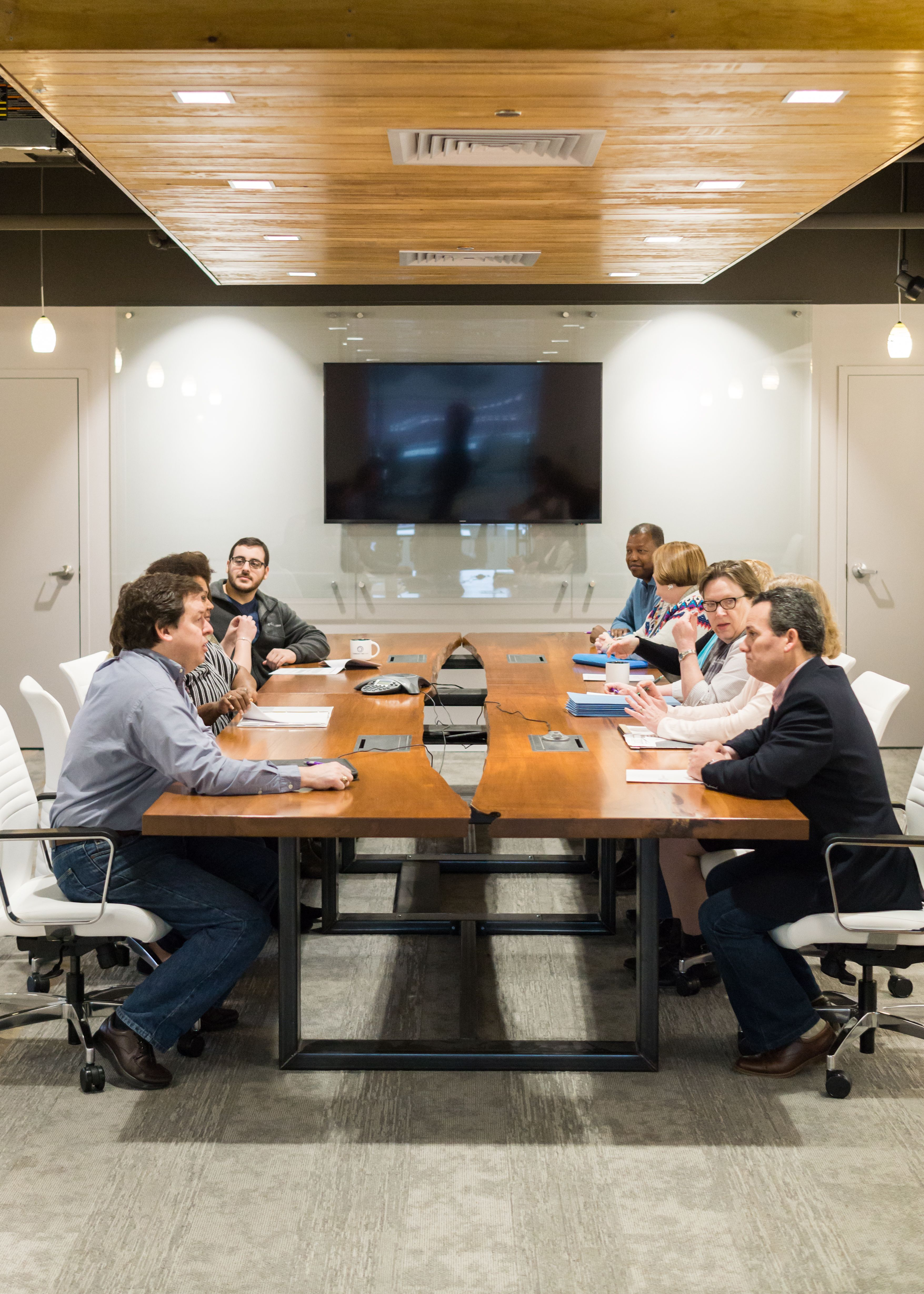 ... Edge Conference Table Proudly Made By Greg Pilotti Furniture Makers.  This Table Is Made From Four Bookmatched Maple Slabs Sourced From  Pennsylvania.