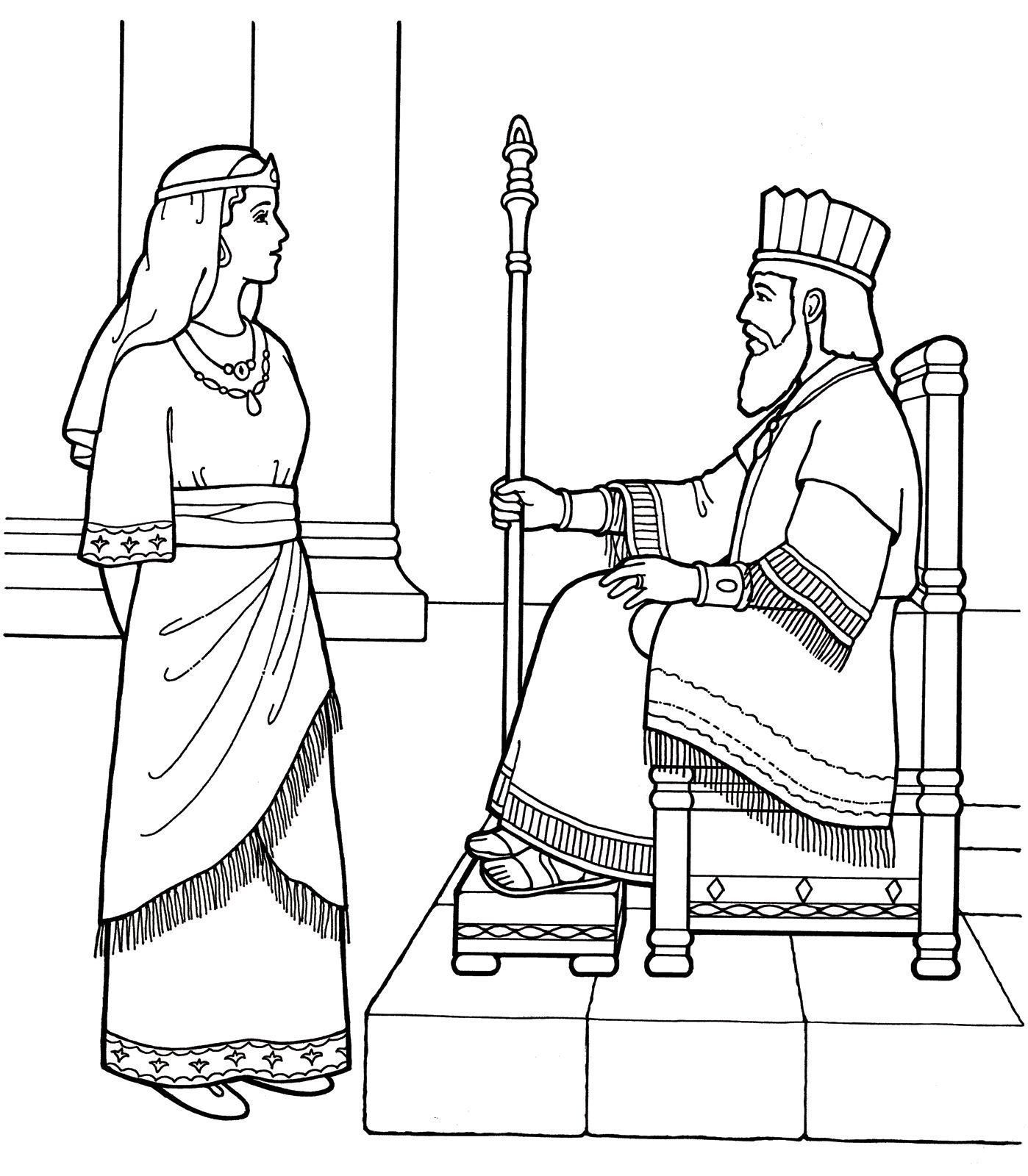 42 Coloring Pages Queen Esther Bible Coloring Pages Bible Coloring Free Bible Coloring Pages