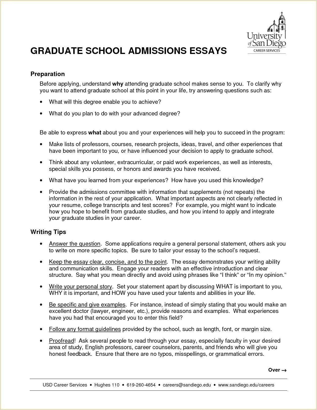 Sample Graduate Nursing Resume in 2020 Graduate school