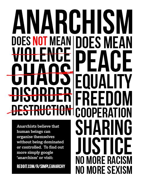 Resultado de imagen de positive anarchism