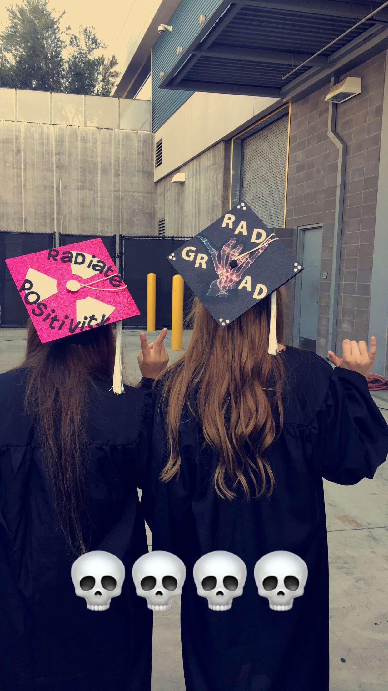 Xray Graduation Caps Grad Cap Radiation