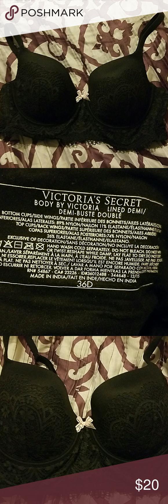 NWOT Victoria's Secret demi black bra NWOT Victoria's Secret demi black bra never worn Victoria's Secret Intimates & Sleepwear Bras