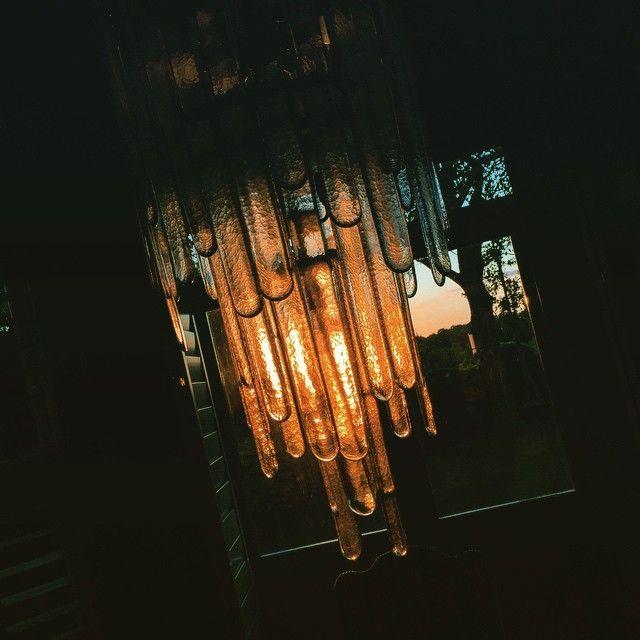 Sunset chandelier