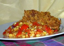 Southern-Style Oven Fried Chicken w/ ***Cornflakes***