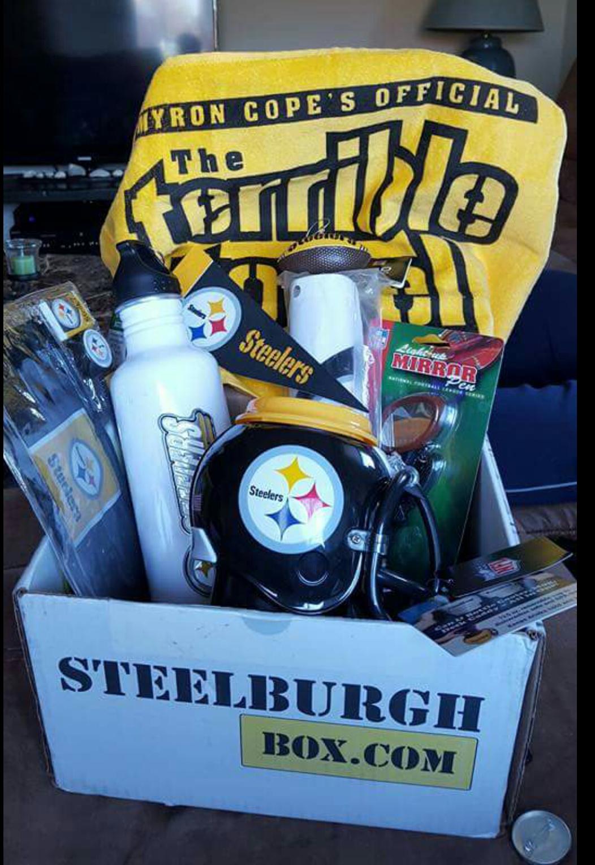 294b3b7f SteelburghBox is a Steelers fan subscription box delivering Steeler ...