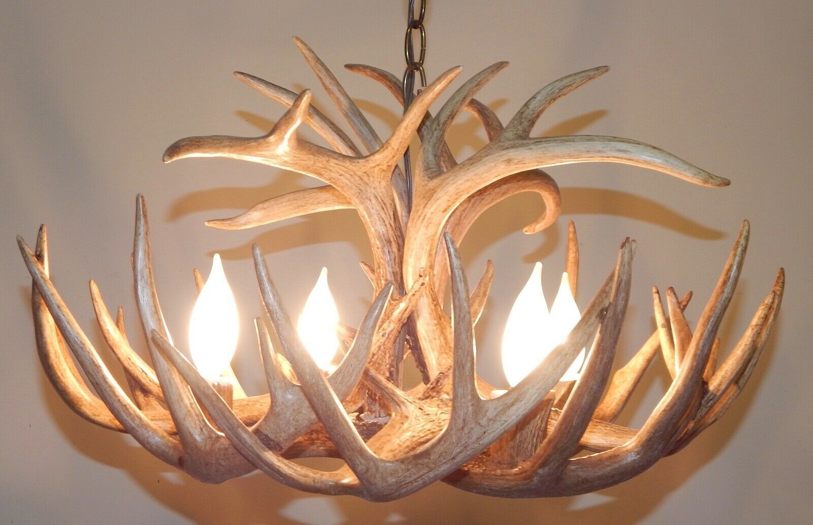 Pin On Real Antler Chandelier