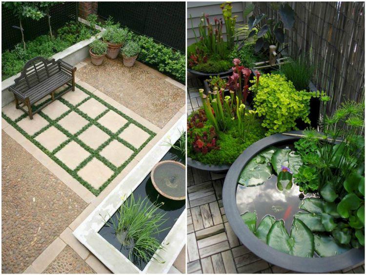 Neue Gartenideen gartenideen teich wasserpflanzen feng shui garten