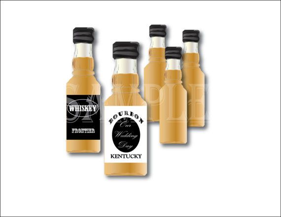 Blank Liquor Bottle Label Template Printable Files DIY - Liquor bottle labels template
