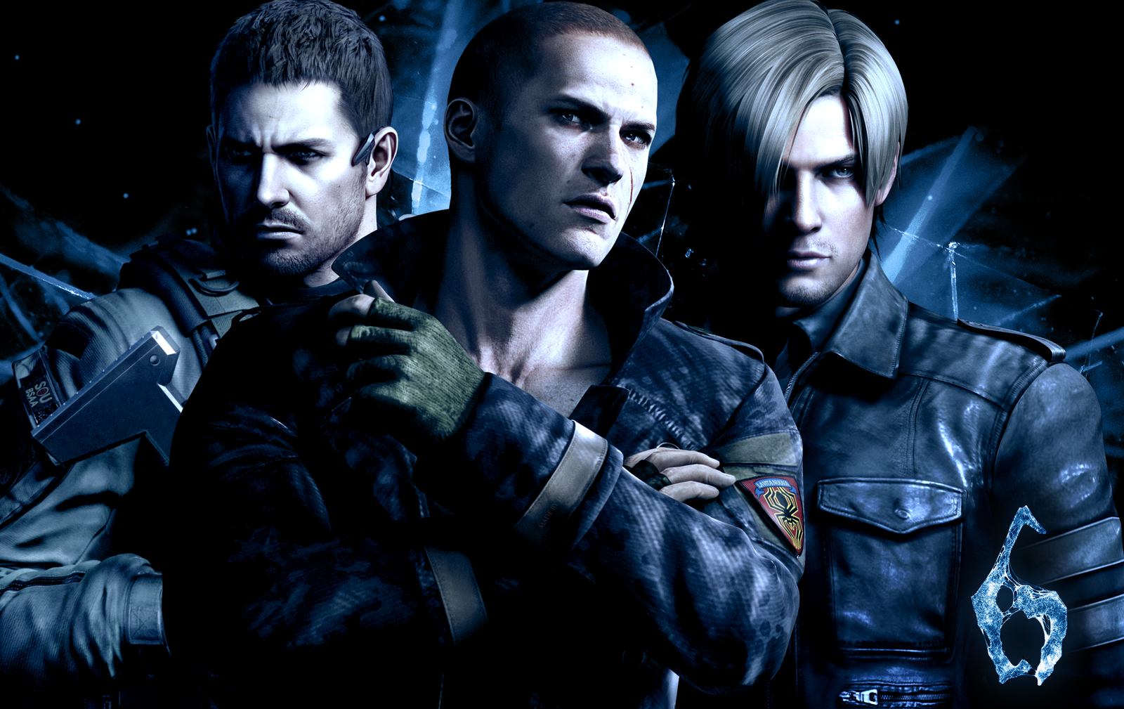 Resident Evil 6 Gameplay Wallpapers