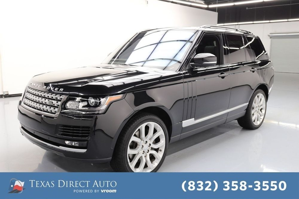 For Sale 2016 Land Rover Range Rover HSE Texas Direct