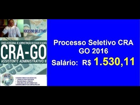 Apostila Concurso Assistente Administrativo II [ Goiás 2016 ]