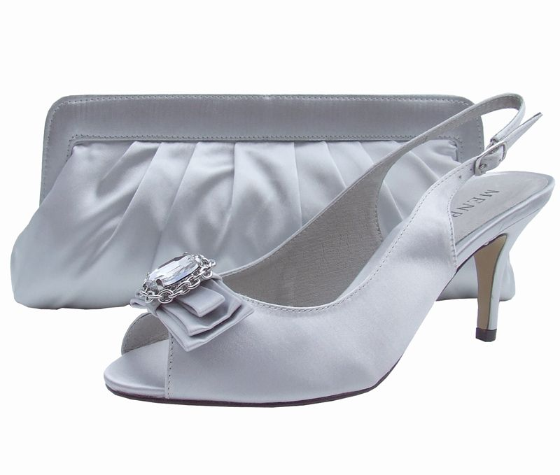 32c13eedc3a Menbur Pearl Grey Peep Toe Shoes | Shew | Shoes, Peep toe shoes ...