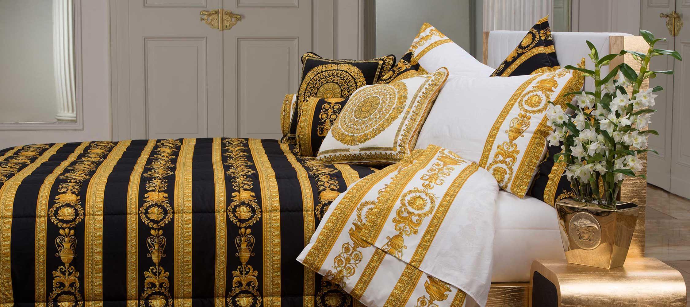 Ropa De Cama De La Versace Home Collection Paco Escriv Muebles  # Dilusso Muebles