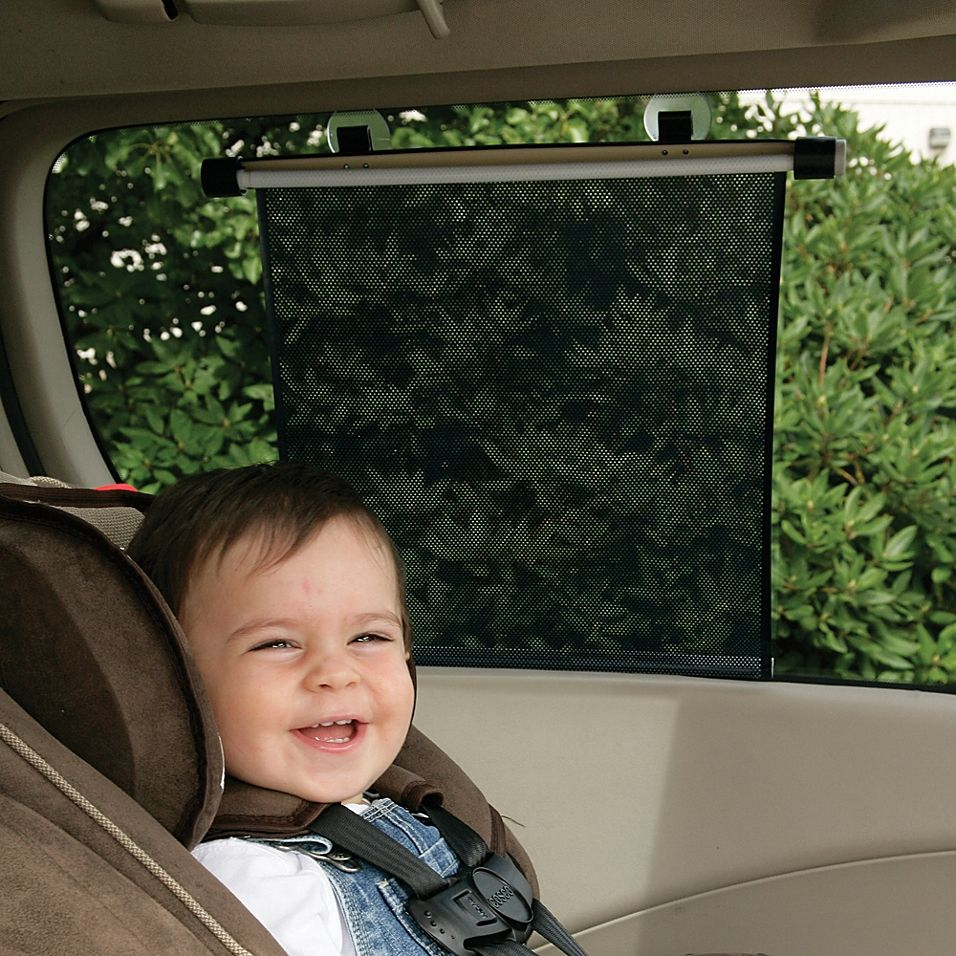Safety 1st 2Pack Deluxe Rollershade Graphite Baby