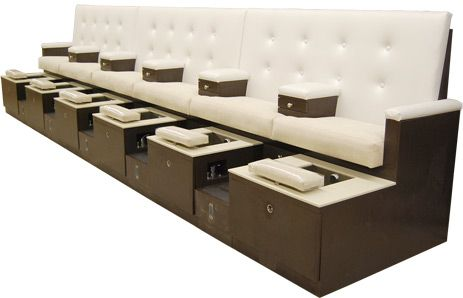 Check Out The Deal On Grande Hexa Pedicure Spa Bench At Design X Mfg | Salon