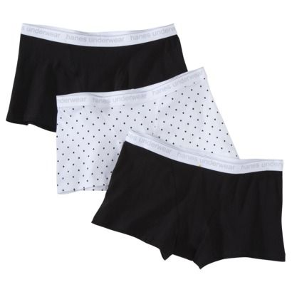 Hanes® Women s Boxer Brief - Assorted Colors Patterns Vary with Package  found at target cd1e738afe