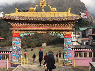Tour am Mount Everest mit dem Flughafen düsseldorf