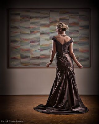Chocolate Brown Gown ~ Beautiful