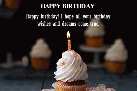 Happy Birthday Cake Gifs With Name Edit Birthday Wishes