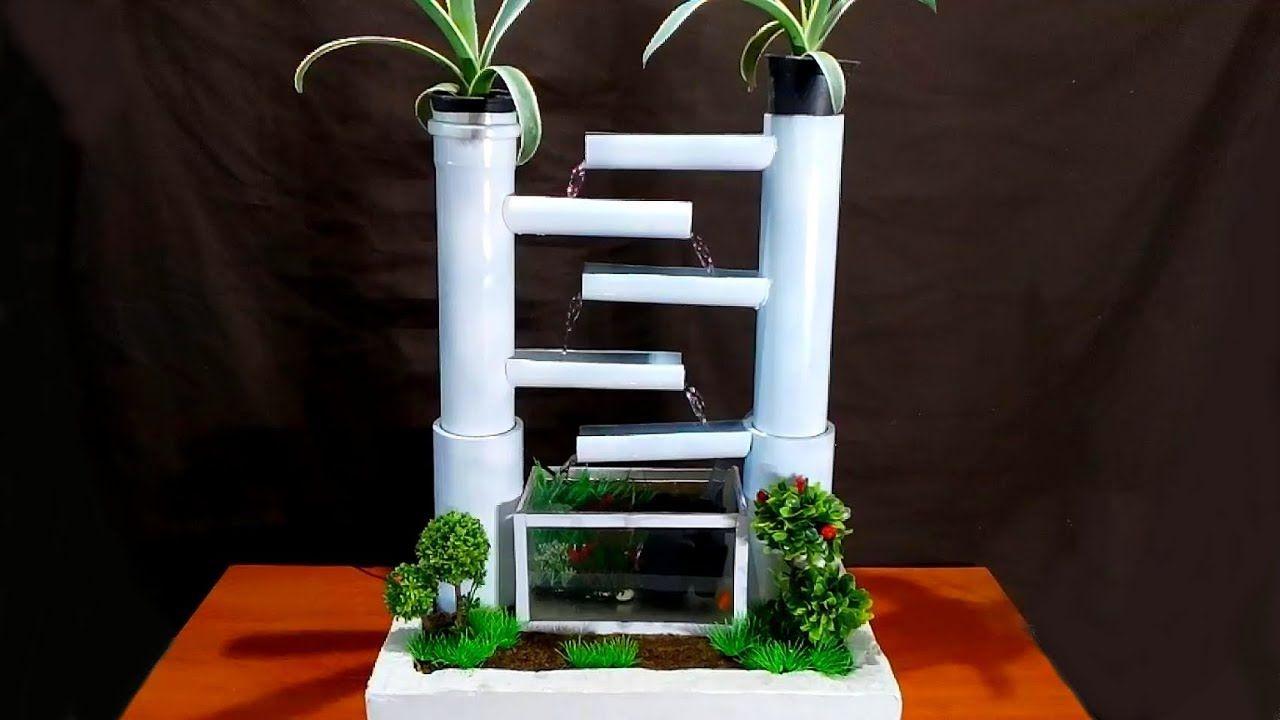 How To Make A Terracotta Fountain Aquarium With Plastic