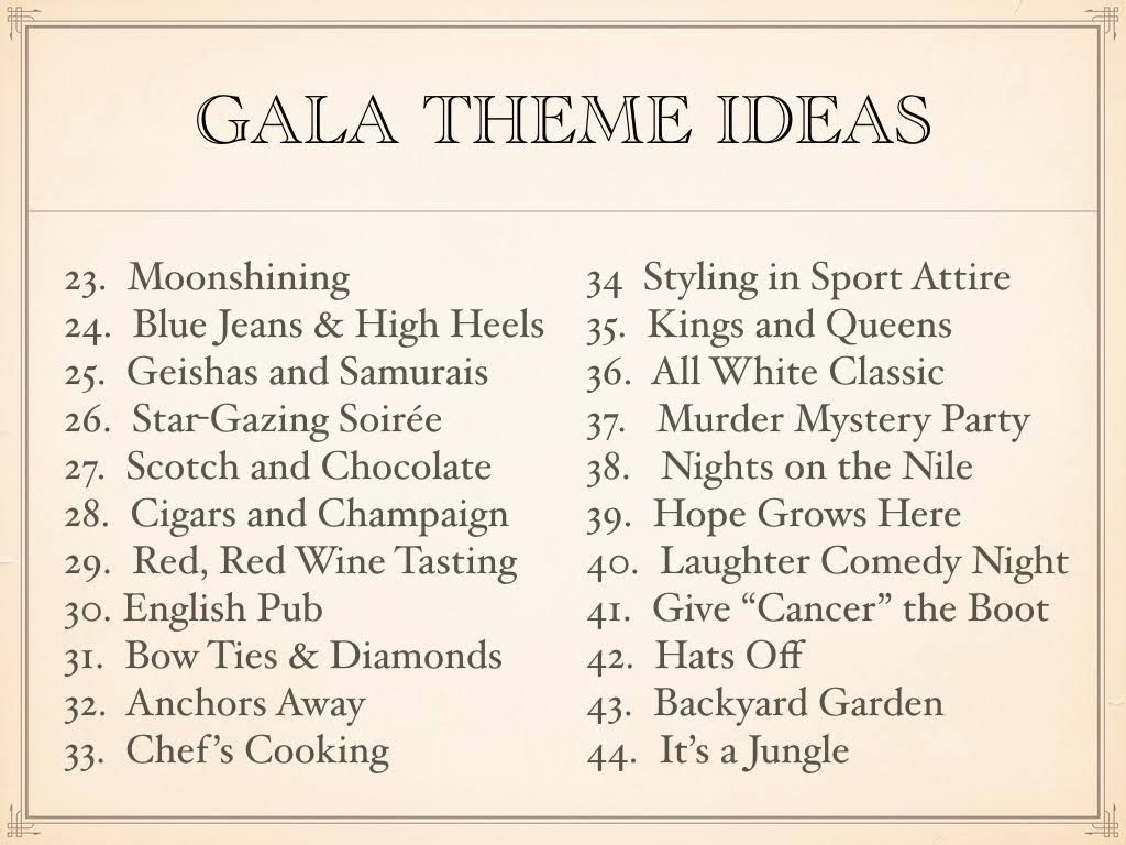 gala theme ideas for 2017 for fundraising fun raise the rink