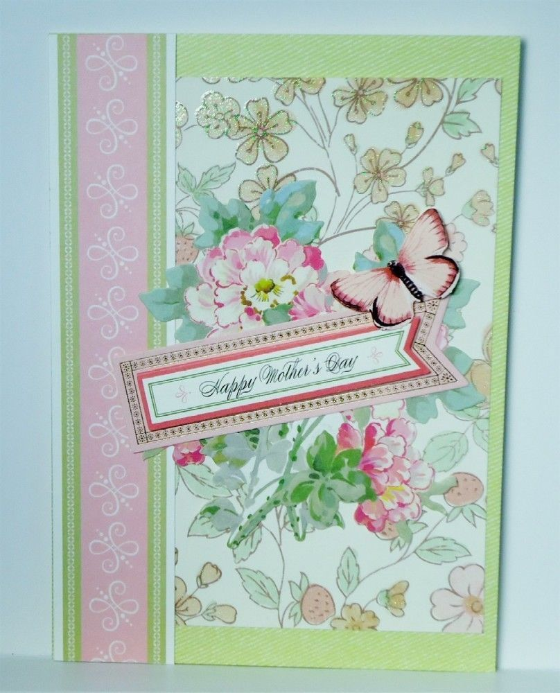 These Cards Use Anna Griffin Craft Papers And Embellishments In