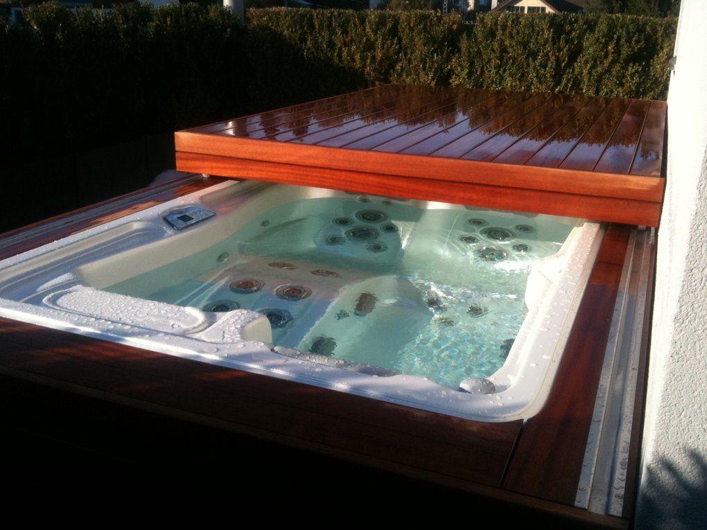 Mirakel automatische Whirlpool-Abdeckung \u2013 hydrops Градина - reihenhausgarten und pool