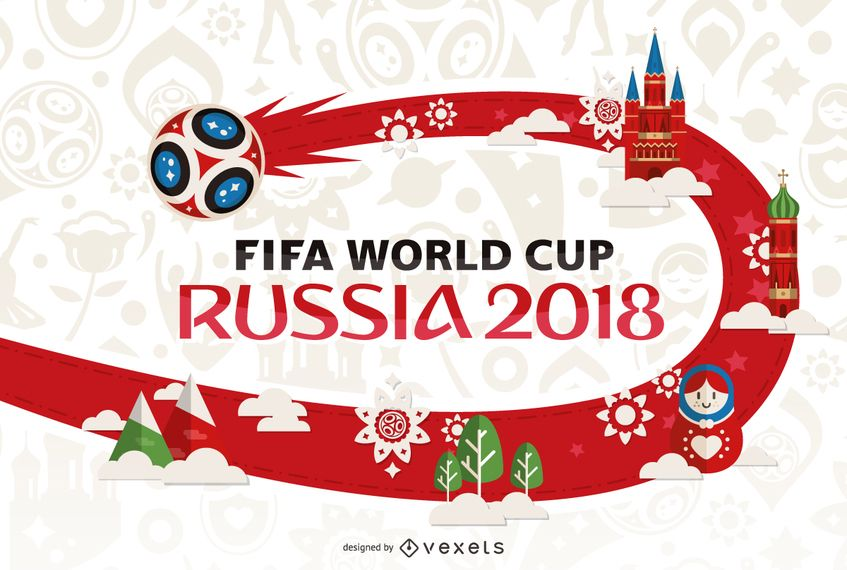 2db0858c3 Russia 2018 World Cup poster design