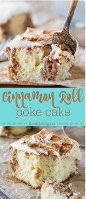 Cinnamon Roll Poke Cake Recipe | foodrink #cinnamonrollpokecake Cinnamon Roll Poke Cake Recipe | foodrink #strawberrycinnamonrolls