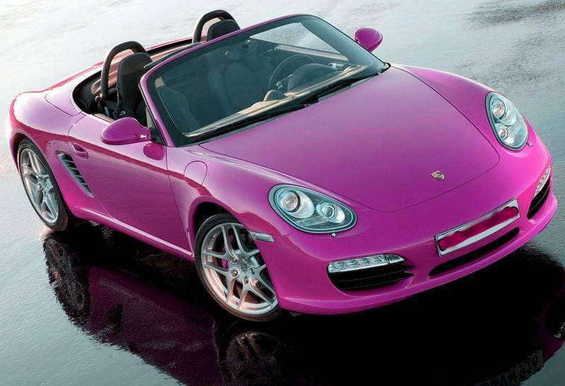 Cute Porsche Ll Drive A Pink Convertible Car Porsche With