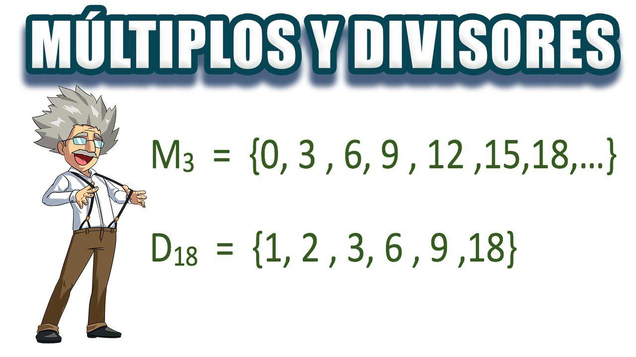 Cómo hallar los múltiplos y divisores de un número? | segundo ...