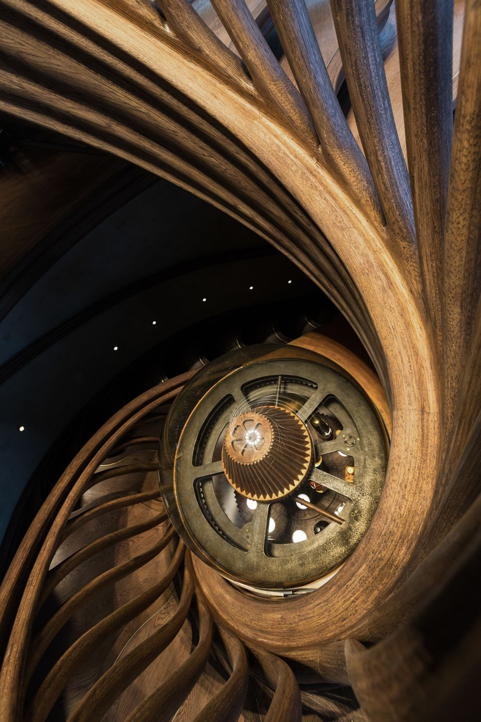 Best The Design For The Main Staircase At The Hide Restaurant 400 x 300