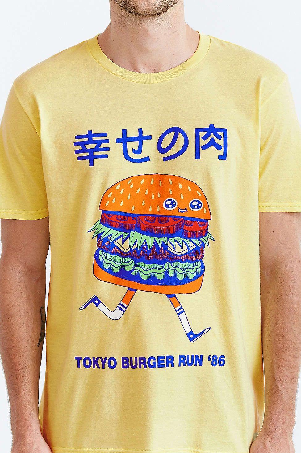Shirt design killeen tx - Threadless Tokyo Burger Run Tee