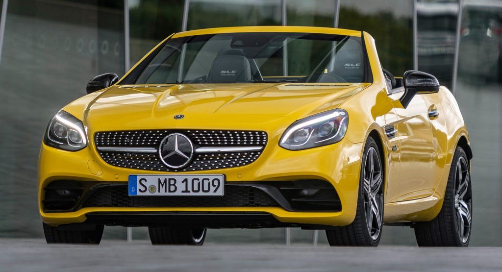 Mercedes Sends Off Slc With New Final Edition Is It The End Of An Era Mercedes Slc Mercedes Benz Mercedes