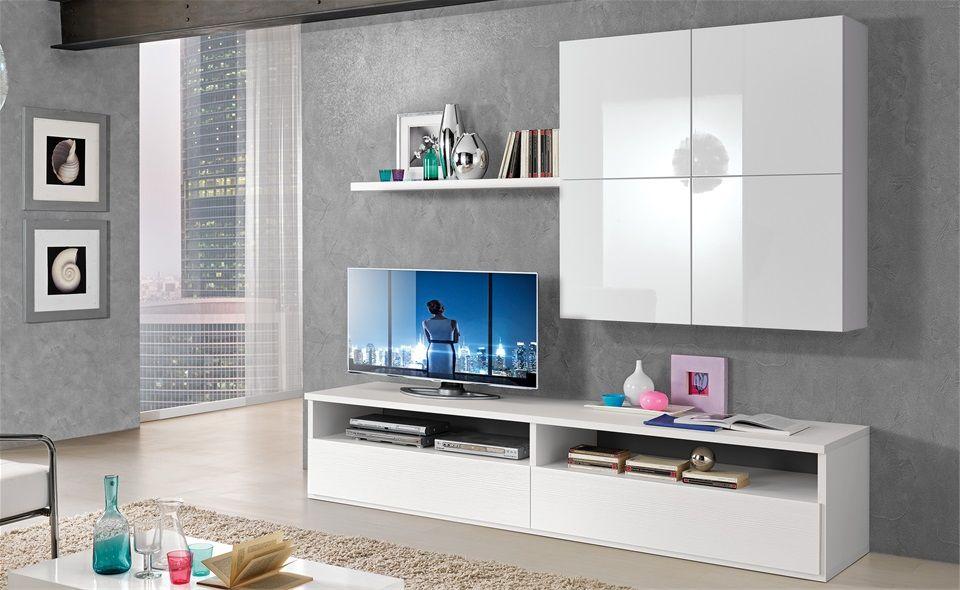 Soggiorno s 242 mondo convenienza arredamento home living room living room e bedroom - Parete sala mondo convenienza ...