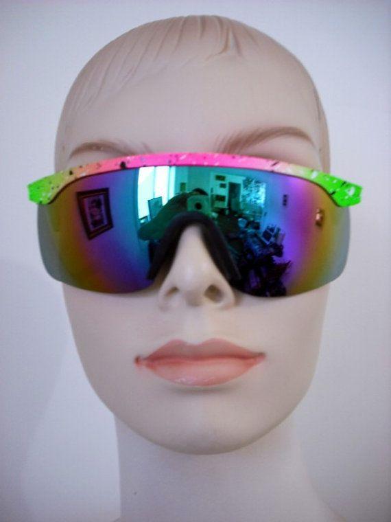 Mirrored 80s Sunglasses