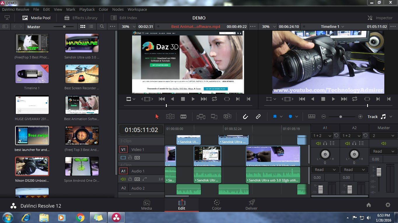 Top 3 Best Video Editing Software for Windows 7,Windows 8