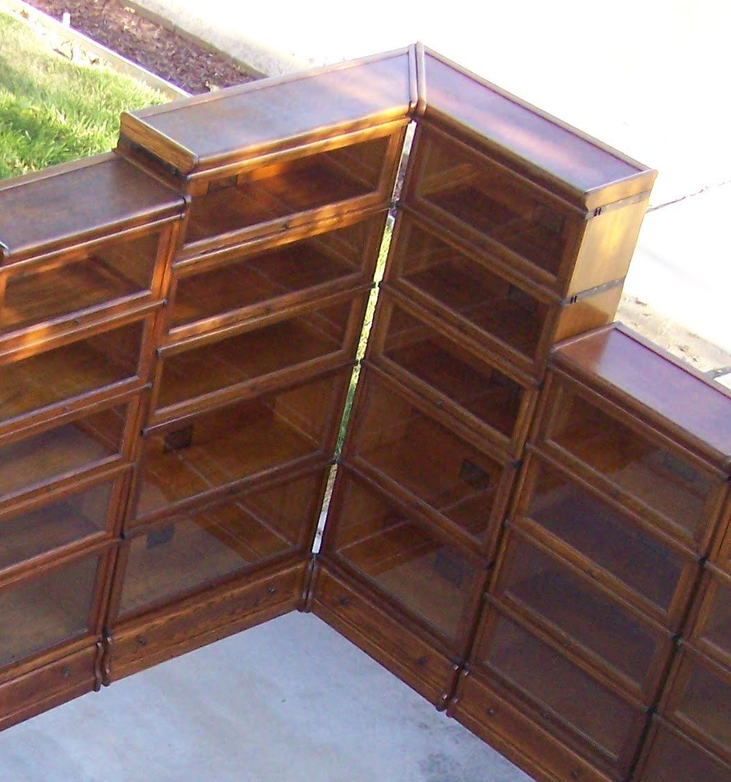 restored for be to sale lawyer antique double wide bookcase barrister orig bookcases