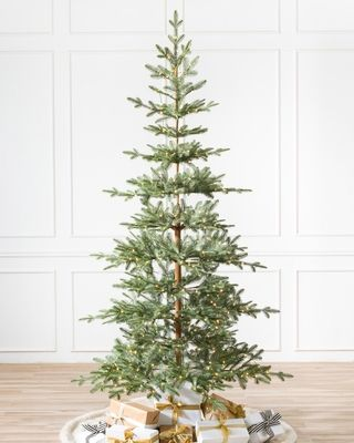 Measuring 4 5 Feet Tall And 38 Inches Wide The Alpine Balsam Fir Is Realistic Artificial Christmas Trees Best Artificial Christmas Trees Fake Christmas Trees