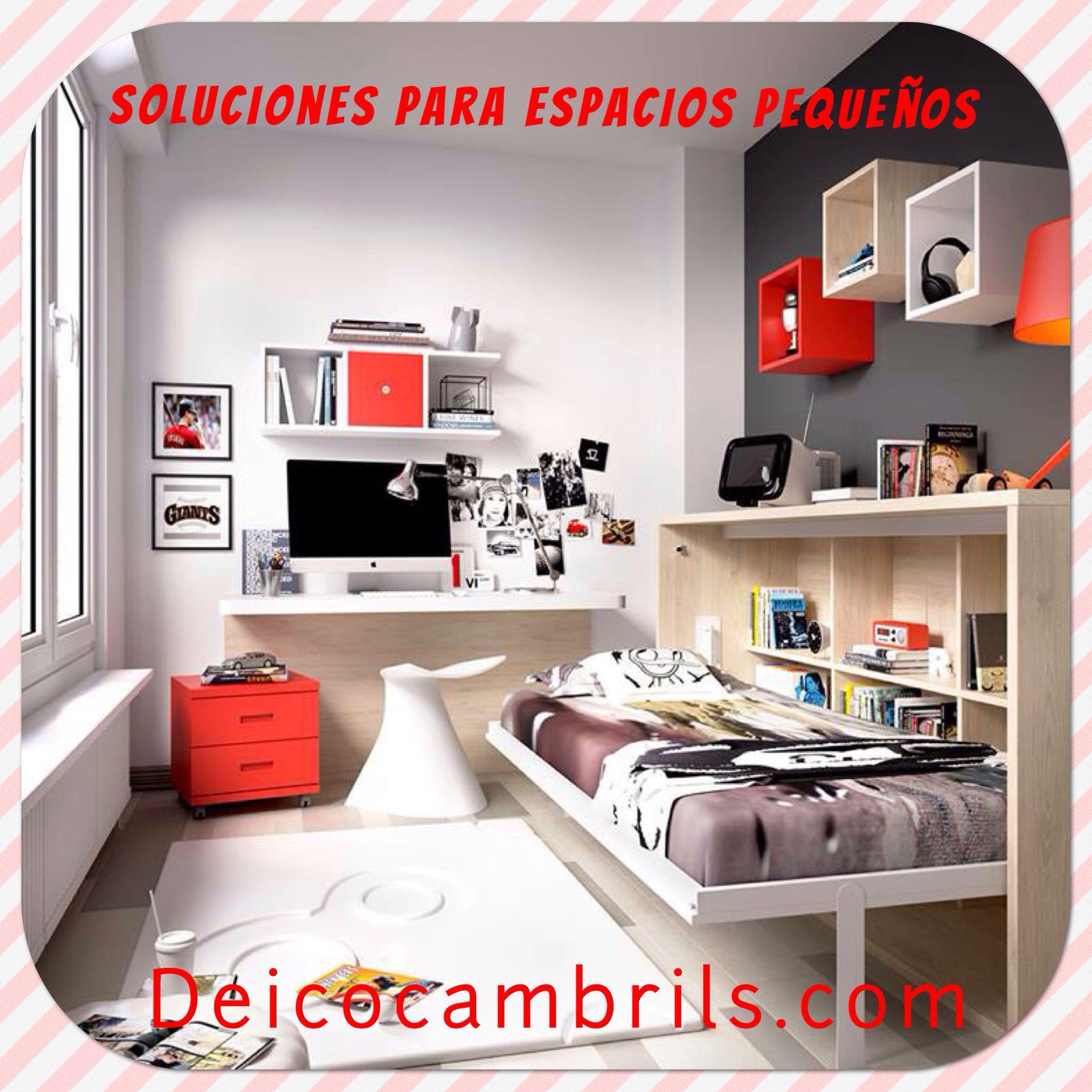 Soluciones para espacios peque os ni os espacios peque os peque os y casas - Soluciones para espacios pequenos ...