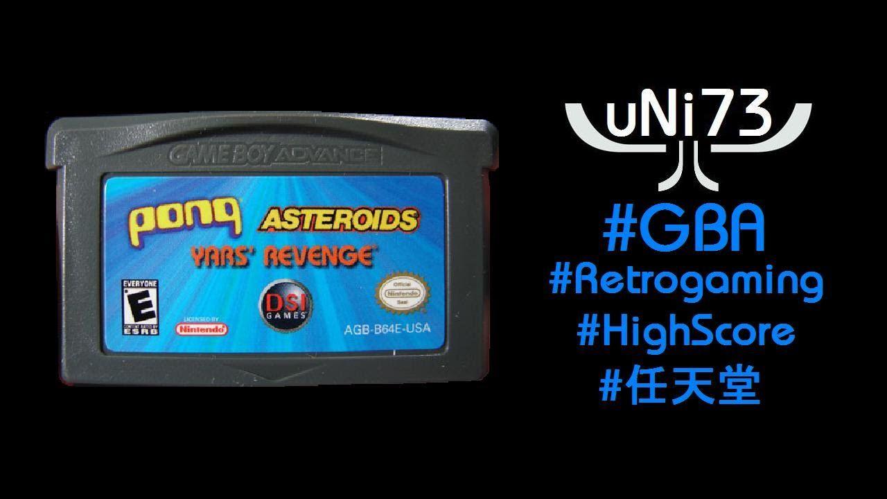 Asteroids (1979/2005) Nintendo GBA Score 28790 H&s