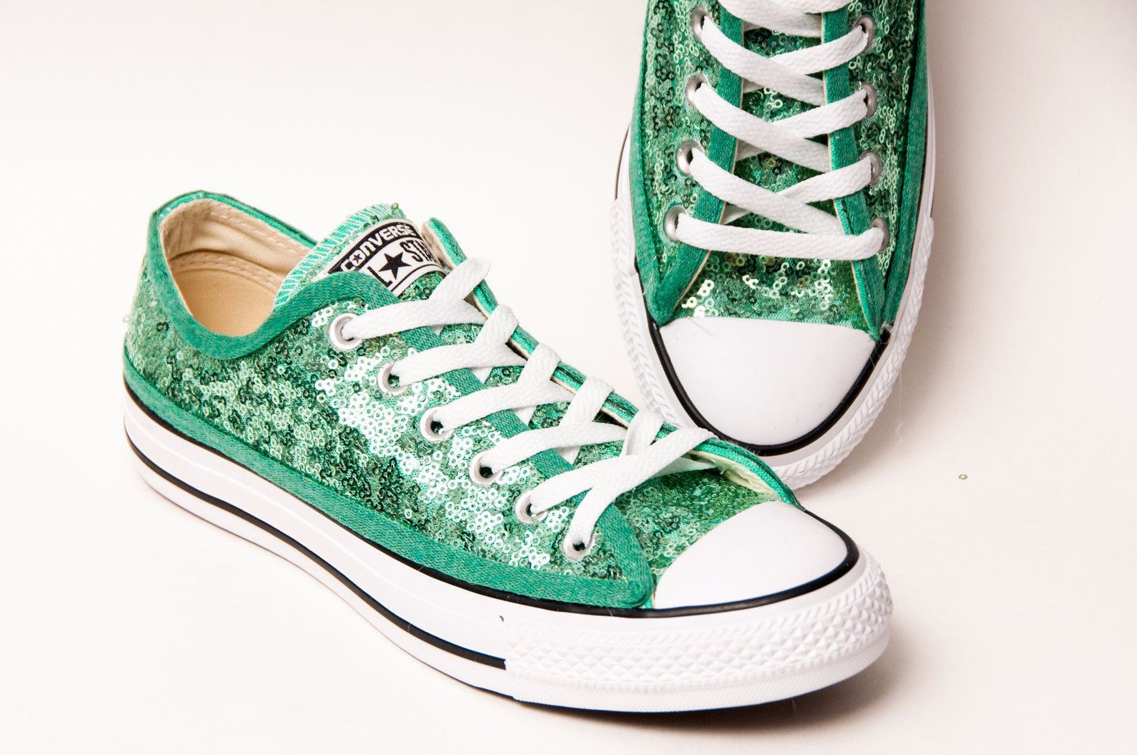 ed4e63b99228a Select Your Color of Starlight Sequin Name Brand Canvas Low Tops ...