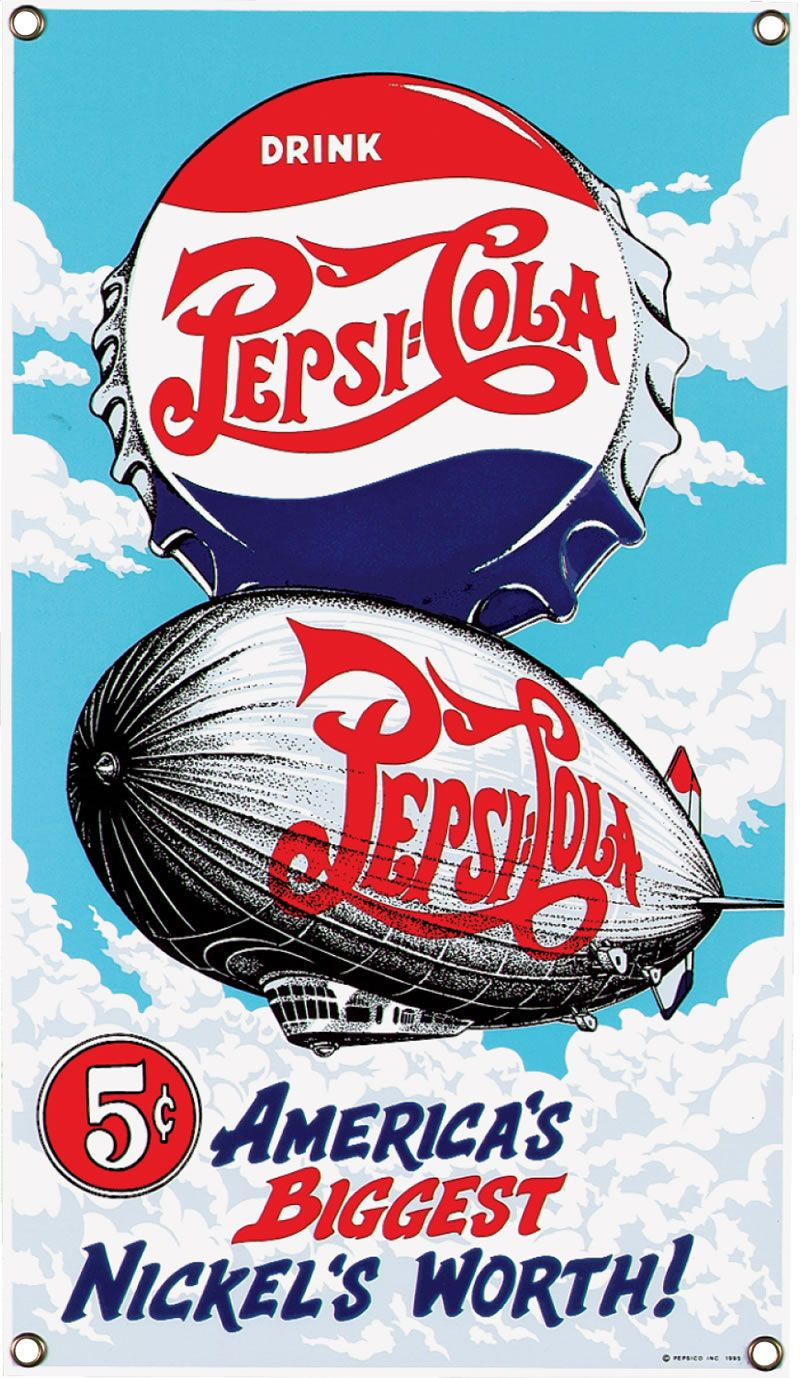 Vintage Pepsi Cola Advertising Related Keywords