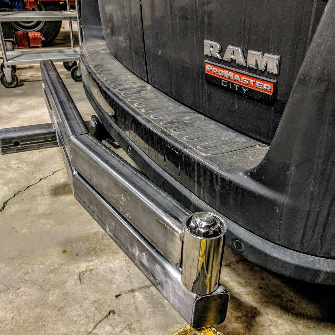 Promastercity Receiver Mount Mini Bumper Fabrication Underway It