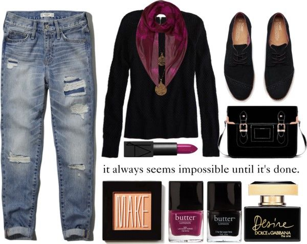 """""""It always seems impossible until it's done."""" by withlove23x on Polyvore"""
