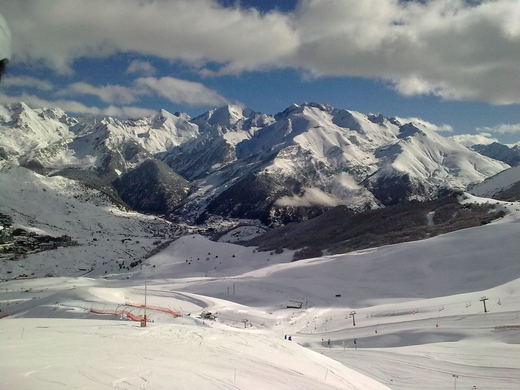 Esquí En Formigal Valle De Tena Pirineos Estaciones De Esqui Paisajes Viajes